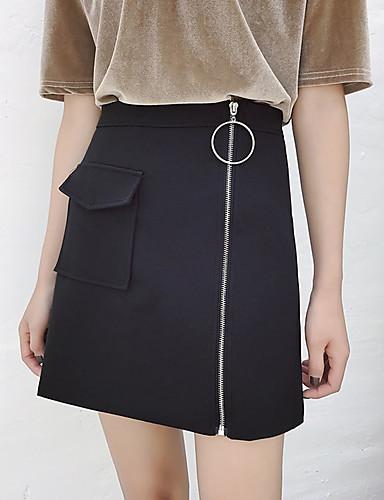 אחיד - חצאיות כותנה צינור בגדי ריקוד נשים