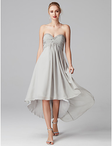 e4ca0358ec4 play video. cheap Homecoming Dresses-A-Line Sweetheart Neckline  Asymmetrical Chiffon Cocktail Party   Prom Dress