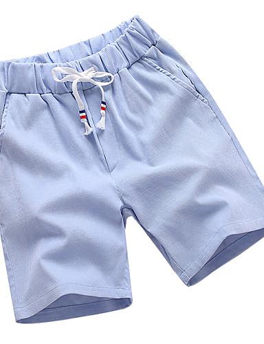 Męskie Sportowy Rozmiar plus Bawełna Szczupła Typu Chino / Krótkie spodnie Spodnie Jendolity kolor