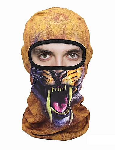 cheap Cycling Clothing-WOSAWE Balaclava Cycling Camping & Hiking Ultraviolet Resistant Breathability Bike / Cycling Grey Khaki Burgundy Polyester for Men's Women's Adults' Camping / Hiking Outdoor Exercise Cycling / Bike