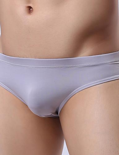 voordelige Herenondergoed & Zwemkleding-Standaard, Effen - Sexy Slip Heren Lage taille