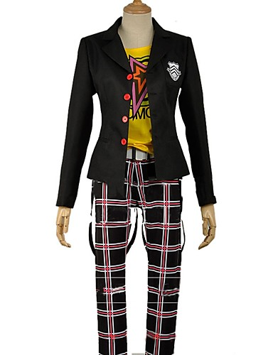 26aed3d7598d Inspired by Persona 5 Ryuji Sakamoto / Skull Anime Cosplay Costumes  Japanese Cosplay Suits Other Long Sleeve Coat / Pants / T-shirt For Unisex