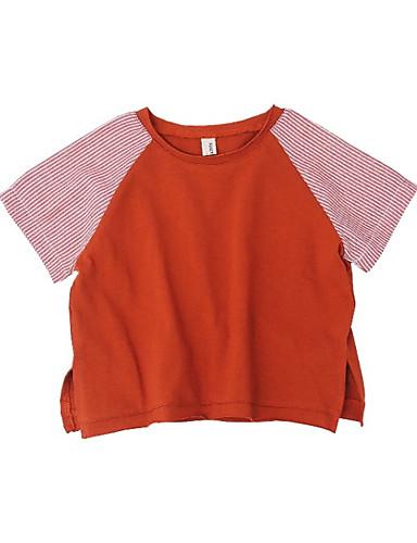 Dzieci Dla chłopców Wielokolorowa Krótki rękaw T-shirt
