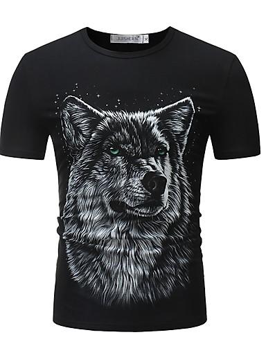 Men's Vintage / Street chic T-shirt - Animal