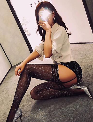 Pentru femei Sexy Ciorapi / Ciorapi cu Chilot - Mată Subțire / Ieșire / Muncă