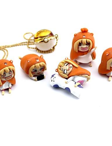 baratos Cosplay Anime-Figuras de Ação Anime Inspirado por Himouto Ace PVC 3 cm CM modelo Brinquedos Boneca de Brinquedo
