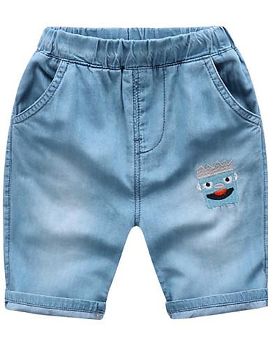 Dzieci / Brzdąc Dla obu płci Geometryczny Jeansy