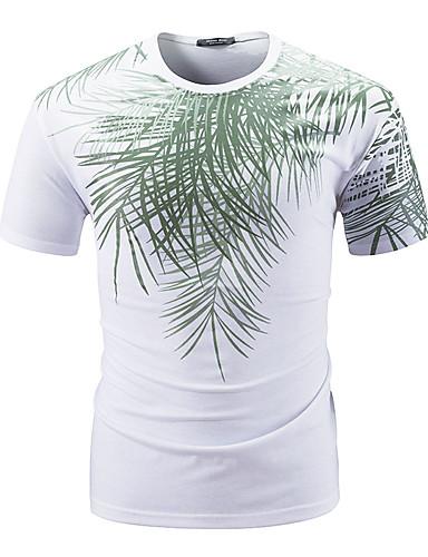 Bărbați Tricou De Bază - Floral