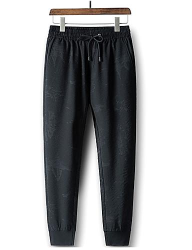 Bărbați De Bază Pantaloni Chinos Pantaloni Geometric