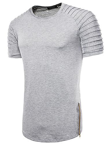 Bărbați Tricou De Bază - Mată / Dungi