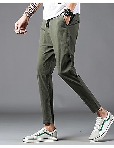 Bărbați Activ / De Bază Harem Pantaloni Geometric