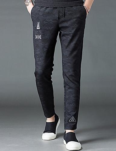 Bărbați De Bază Pantaloni Chinos Pantaloni camuflaj