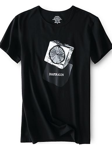Bărbați Tricou Geometric Imprimeu