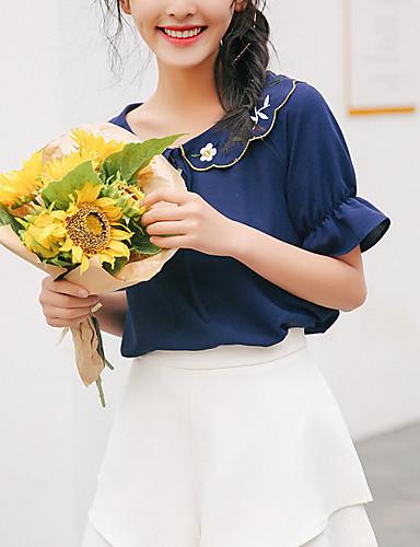 Pentru femei Tricou Ieșire Floral
