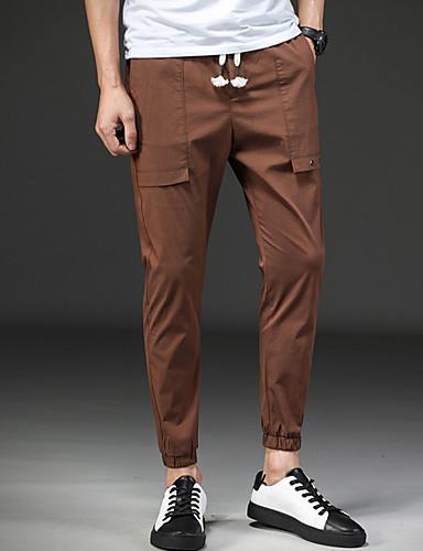 Bărbați Zvelt Pantaloni Chinos Pantaloni Mată