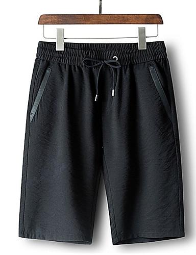 Bărbați De Bază Pantaloni Scurți Pantaloni Scrisă