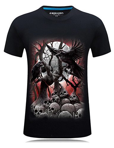 Bărbați Tricou Șic Stradă - Animal