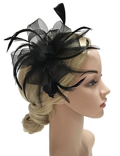 8c255f98 Women's Kentucky Derby Fashion Elegant Fabric Cubic Zirconia Head  Jewelry-Solid Colored / Wedding / Bow / All Seasons