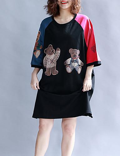 Pentru femei Tricou Bumbac Animal