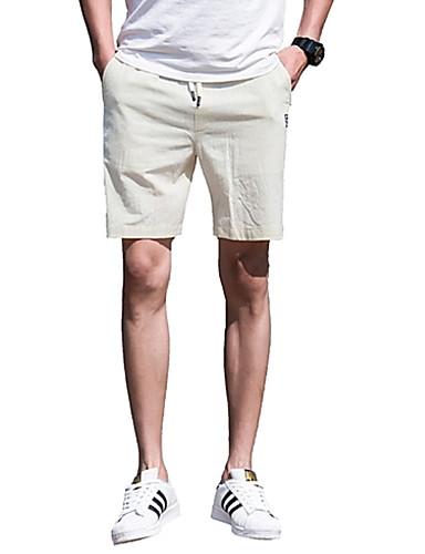 Bărbați De Bază Pantaloni Scurți Pantaloni Mată