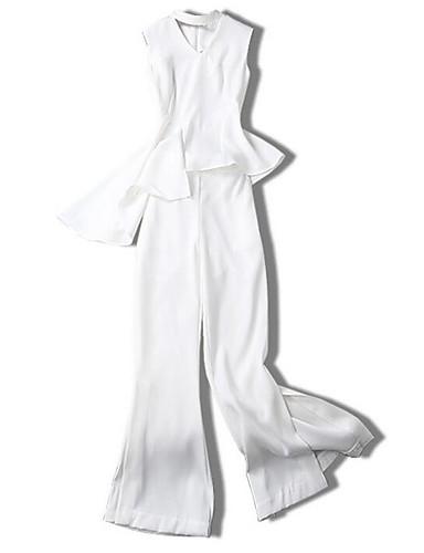Pentru femei Ieșire Set - Mată, Pantaloni Halter