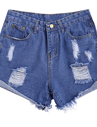 Žene Osnovni Kratke hlače Hlače Jednobojni