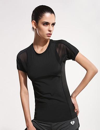 Majica s rukavima Žene - Aktivan / Osnovni Sport Jednobojni Mrežica