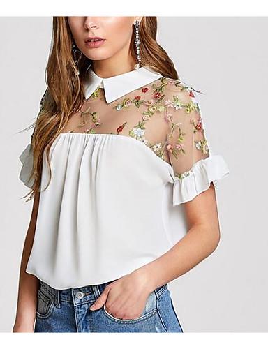 Majica s rukavima Žene - Vintage Sport Jednobojni Rese Crno-bijela