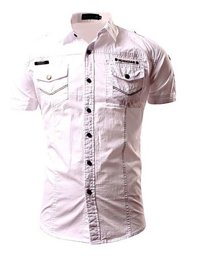 Majica Muškarci - Osnovni Dnevno Jednobojni / Geometrijski oblici
