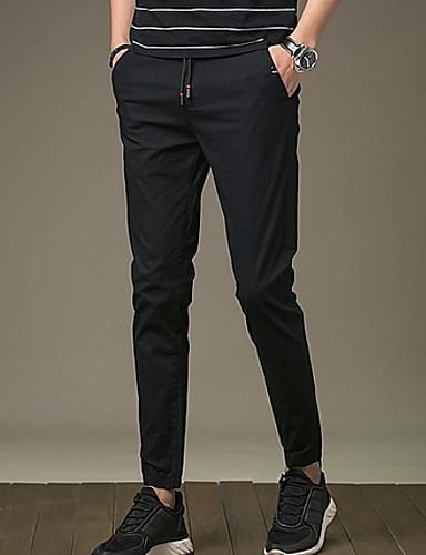 Muškarci Osnovni Sportske hlače Hlače Jednobojni