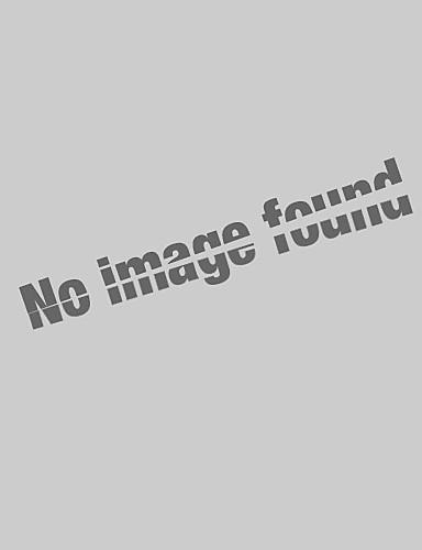 hesapli Erkek Gömlekleri-Erkek Gömlek Yaka Gömlek Solid Beyaz / Kısa Kollu