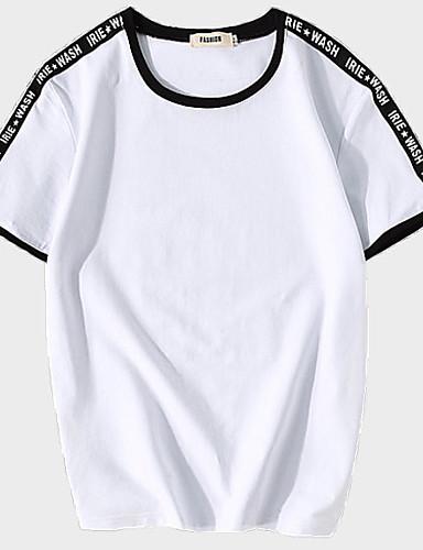 Majica s rukavima Muškarci Dnevno Jednobojni