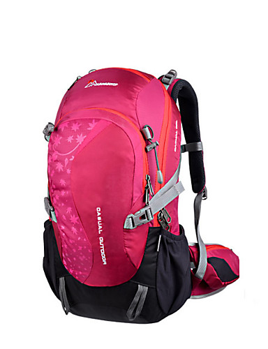ac2868c8bd31 Mountaintop® Hiking Backpack 30 L - Breathability Outdoor Hiking Downhill  75g   m2 Polyester Knit Stretch Leather Black Purple Fuchsia