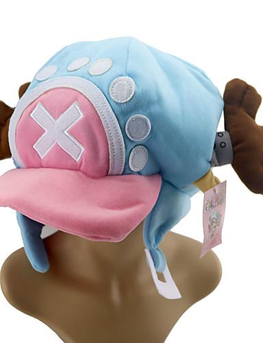 Sombrero   Gorra Inspirado por One Piece Tony Tony Chopper Animé Accesorios  de Cosplay Tapa Algodón Disfraces de Halloween 8e444abb311