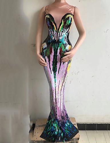 c2eff1e2c4d Χαμηλού Κόστους Στολές χορού-Στολές χορού Εξωτικά ρούχα χορού / Ολόσωμες  φόρμες για νυχτερινή έξοδο