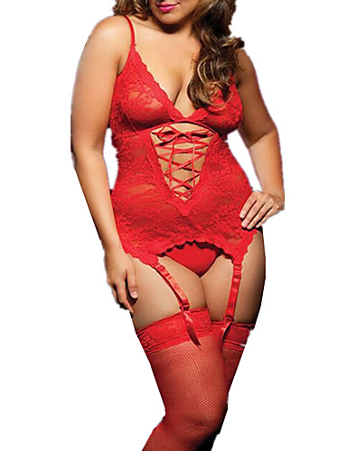52995d43f8 Women s Plus Size Suits Nightwear - Backless