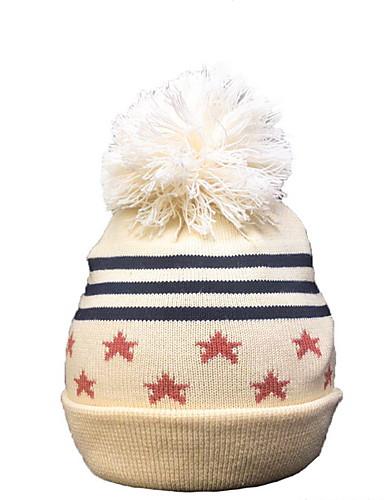 Focoso Bambino (1-4 Anni) Unisex Attivo A Strisce Cotone Cappelli E Berretti Cammello M - L #06957279 Per Farti Sentire A Tuo Agio Ed Energico