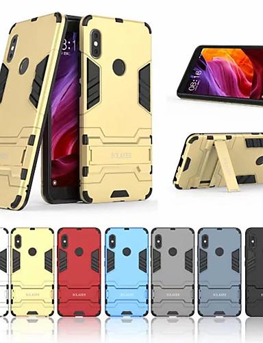 Θήκη Za Xiaomi Xiaomi Redmi Note 5 Pro / Xiaomi Redmi Napomena 5 Otporno na trešnju / sa stalkom Stražnja maska Jednobojni Tvrdo PC