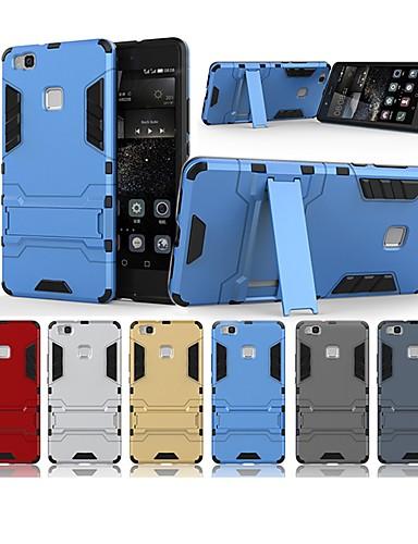 Θήκη Za Huawei Huawei P9 Lite Otporno na trešnju / sa stalkom Stražnja maska Jednobojni / Oklop Tvrdo PC