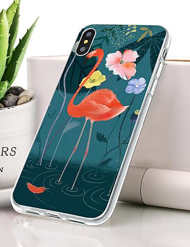 Θήκη Za Apple iPhone XR Protiv prašine / Ultra tanko / Uzorak Stražnja maska Flamingo / Životinja Mekano TPU