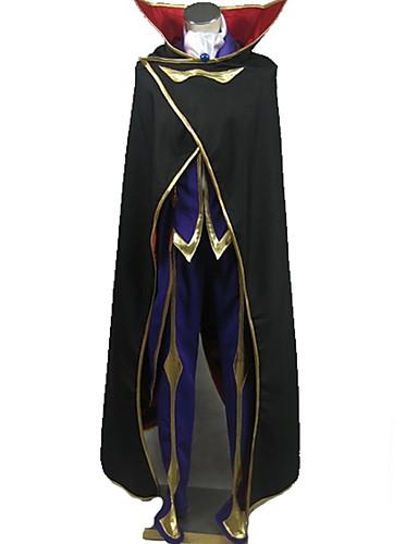levne Cosplay a kostýmy-Inspirovaný Kód Gease Lelouch Lamperouge Anime Cosplay kostýmy Cosplay šaty Speciální design Kabát / Vrchní deska / Kalhoty Pro Pánské / Dámské