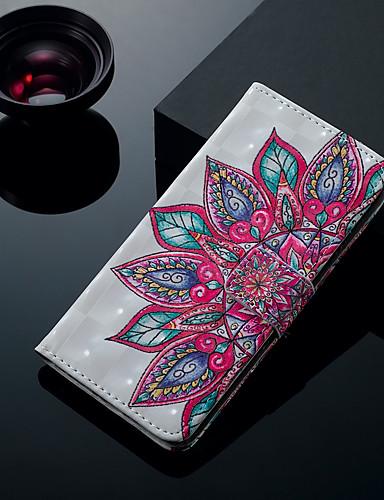 Θήκη Za Samsung Galaxy S9 / S9 Plus / S8 Plus Utor za kartice / sa stalkom / Zaokret Korice Cvijet Tvrdo PU koža