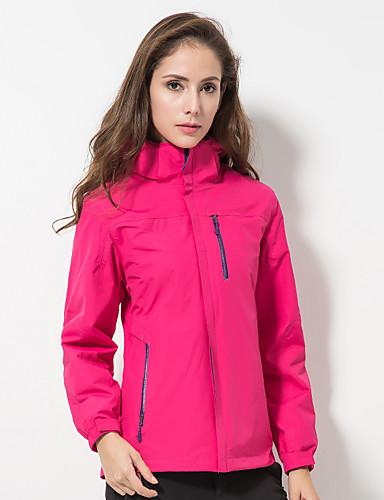 cheap Outdoor Clothing-DZRZVD® Women's Waterproof Hiking Jacket Outdoor Autumn / Fall Spring Waterproof Windproof Rain Waterproof Breathability Jacket Waterproof Rain Proof Outdoor Exercise Back Country Mountaineering