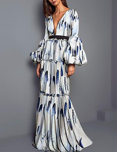 Γυναικεία Μπόχο   Κομψό Πουκάμισο Φόρεμα Μακρύ 7062748 2019 –  28.34 b2a63bc2c04