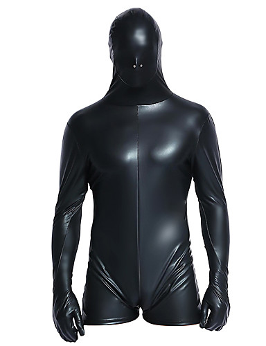 d82e80644bac66 Zentai Suits Skin Suit Full Body Suit Ninja Adults' Cosplay Costumes  Bodysuits Halloween Black Solid