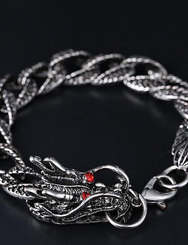 お買い得  Men's Trendy Jewelry-メンズエスニック/ファッションアロイブレスレット