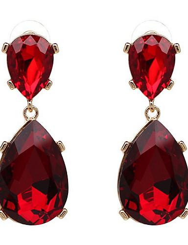 billige Trendy smykker-Dame Europeisk Mote Oversized Legering Daglig