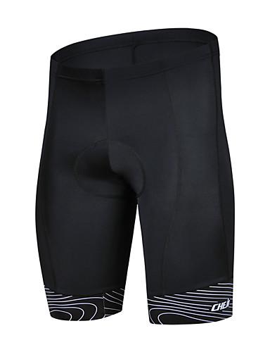 4a68a8ba7 cheji® Men s Cycling Padded Shorts Bike Shorts Pants   Trousers MTB Shorts  Breathable Quick Dry Sports Lycra White   Red   Green Mountain Bike MTB  Road Bike ...
