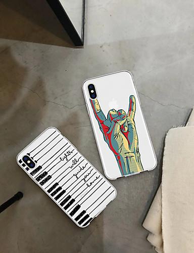 Etui Käyttötarkoitus Apple iPhone XS / iPhone XR / iPhone XS Max Kuvio Takakuori Piirretty Pehmeä TPU
