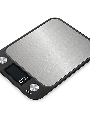 cheap Free Shipping-5kg High Definition Portable LCD Display Electronic Kitchen Scale For Office and Teaching Home life Kitchen daily